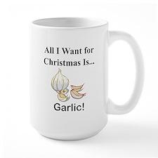 Christmas Garlic Mug