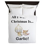 Christmas Garlic Queen Duvet