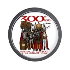 OH3 300th Hash Wall Clock