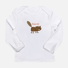 Damn it Beaver! Long Sleeve T-Shirt