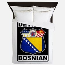 Detroit Bosnian American Queen Duvet