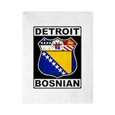 Detroit Bosnian American Twin Duvet