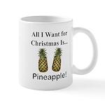 Christmas Pineapple Mug