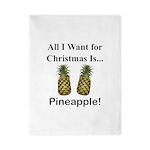 Christmas Pineapple Twin Duvet
