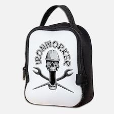 Ironworker Skull Neoprene Lunch Bag
