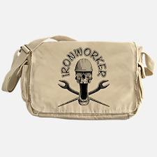 Ironworker Skull Messenger Bag