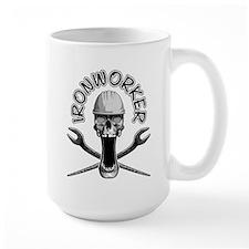 Ironworker Skull Mugs