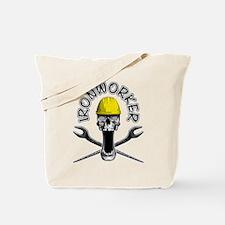 Ironworker Skull 2 Tote Bag