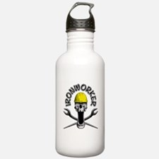 Ironworker Skull 2 Water Bottle