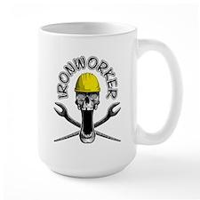 Ironworker Skull 2 Mugs