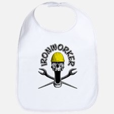 Ironworker Skull 2 Bib
