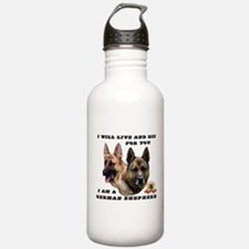 GSD Live and Die For Y Water Bottle
