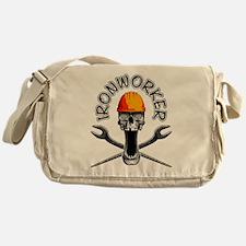 Ironworker Skull 3 Messenger Bag