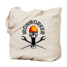 Ironworker Skull 3 Tote Bag