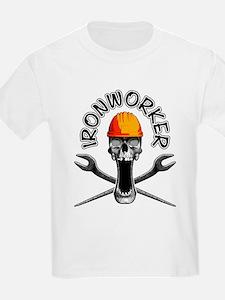 Ironworker Skull 3 T-Shirt