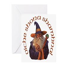 Gaelic Wizard Halloween Cards (Pk of 10)