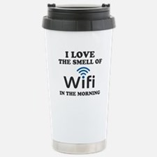 I Love The Smell Of Wif Travel Mug