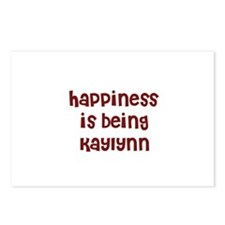 happiness is being Kaylynn Postcards (Package of 8