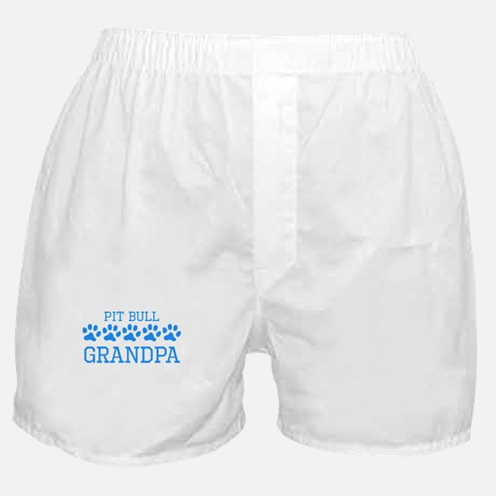 Pit Bull Grandpa Boxer Shorts