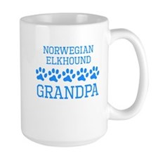 Norwegian Elkhound Grandpa Mugs