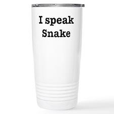 Funny Snake Travel Mug