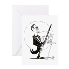 Lotsa Thumbs Bassoon Greeting Card
