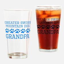 Greater Swiss Mountain Dog Grandpa Drinking Glass