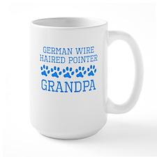 German Wirehaired Pointer Grandpa Mugs