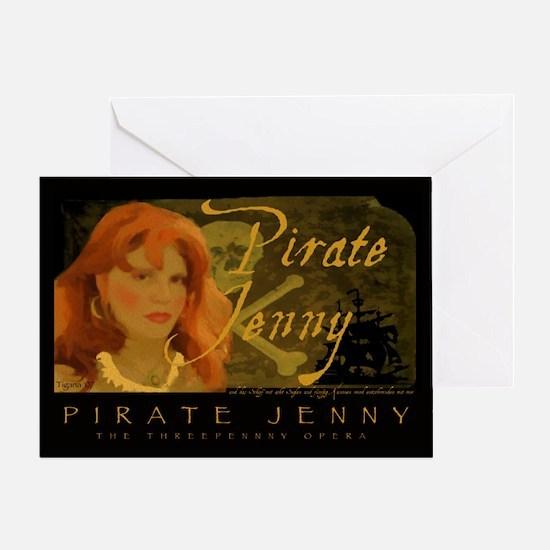 Pirate Jenny Greeting Card