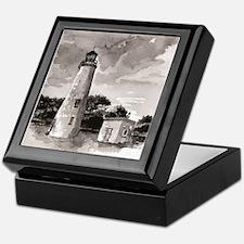 Ocracoke Island Lighthouse Keepsake Box