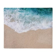 Summer Beach Throw Blanket