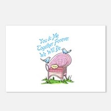 YOU AND ME Postcards (Package of 8)