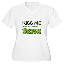 Kiss Me, I'm NOT Irish Plus Size T-Shirt