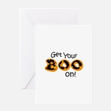 GET YOUR BOO ON Greeting Cards