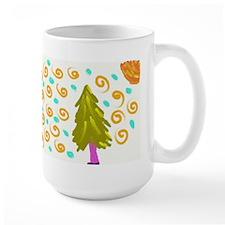 Walking Tree Snowy Mug