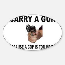 GUN CARRIER Decal