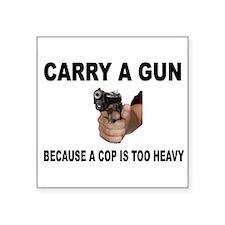 GUN CARRIER Sticker