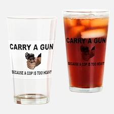GUN CARRIER Drinking Glass