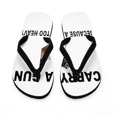 GUN CARRIER Flip Flops