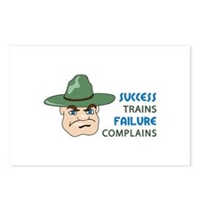 SUCCESS AND FAILURE Postcards (Package of 8)