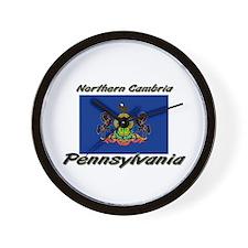 Northern Cambria Pennsylvania Wall Clock