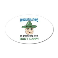 BOOT CAMP GRADUATE Wall Decal