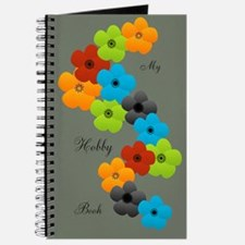 Bright Anemone Garland Flower Journal