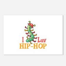 I LOVE HIP HOP Postcards (Package of 8)