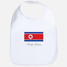 North Korea - Flag Bib