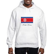 North Korea - Flag Hoodie