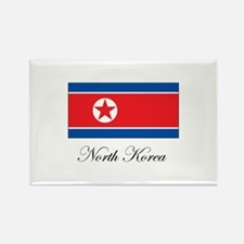 North Korea - Flag Rectangle Magnet