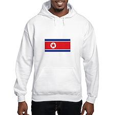 North Korea Flag Hoodie
