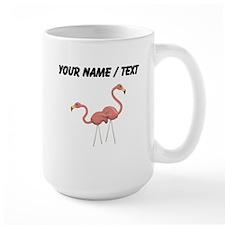 Custom Flamingo Decorations Mugs