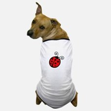 LADYBUG APPLIQUE Dog T-Shirt